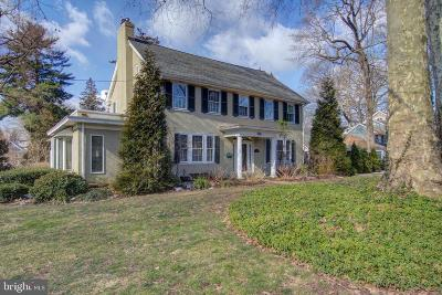 Delaware County Single Family Home For Sale: 224 N Swarthmore Avenue