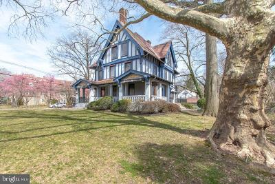 Delaware County Single Family Home Active Under Contract: 201 S Chester Road