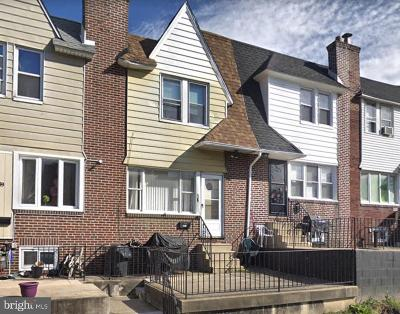 Upper Darby Townhouse For Sale: 441 Hampden Road