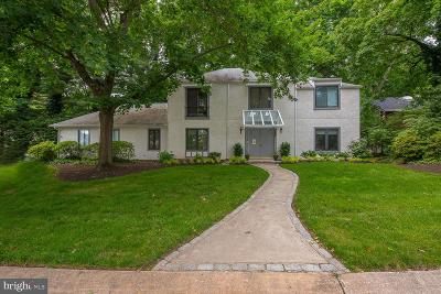 Bryn Mawr Single Family Home For Sale: 202 Drakes Drum Drive