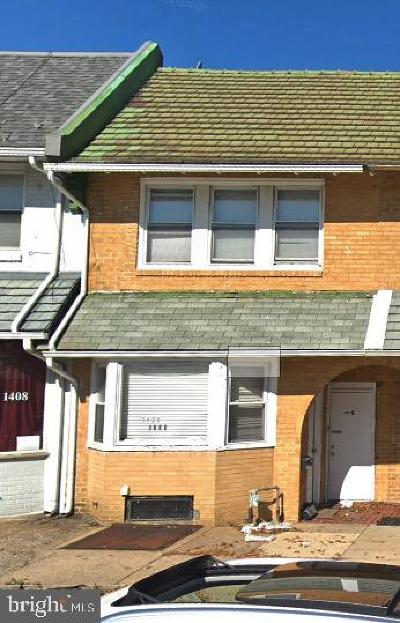 Upper Darby Townhouse For Sale: 1406 Bywood Avenue