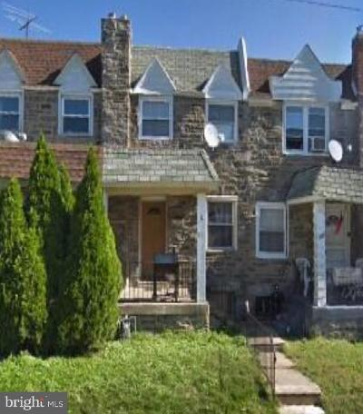 Upper Darby Townhouse For Sale: 351 Margate Road