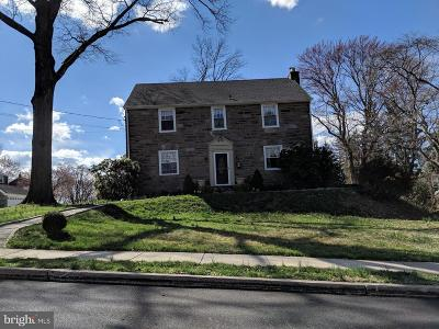 Broomall Single Family Home Active Under Contract: 64 Lindbergh Avenue