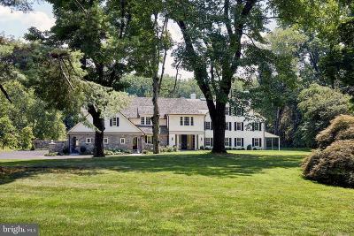 Villanova Single Family Home For Sale: 739 Darby Paoli Road