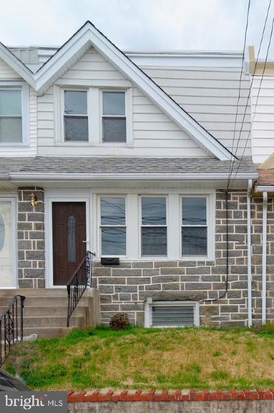 Upper Darby Townhouse Under Contract: 410 S Carol Boulevard