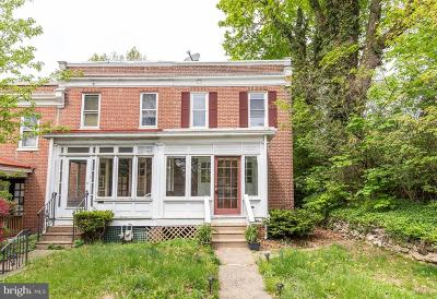 Media Single Family Home For Sale: 417 W Baltimore Avenue