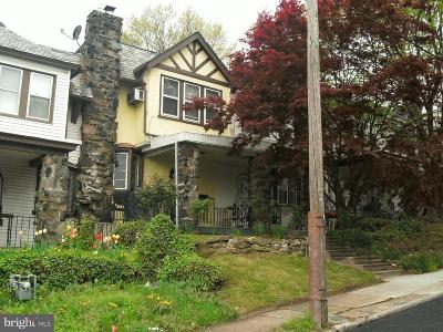 Upper Darby Townhouse For Sale: 158 Springton Road