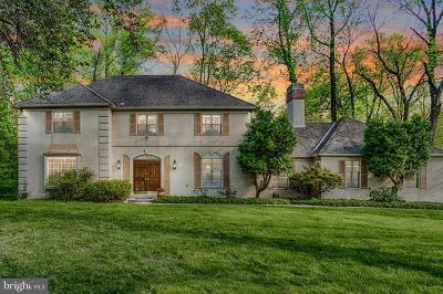 Newtown Square Single Family Home Active Under Contract: 1 Patterson Place