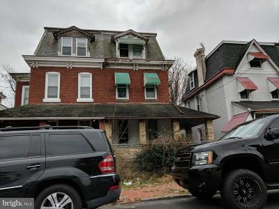 Chester Single Family Home For Auction: 2421 W 3rd Street