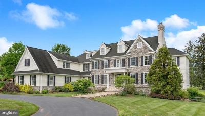 Newtown Square Single Family Home For Sale: 3511 Sawmill Road