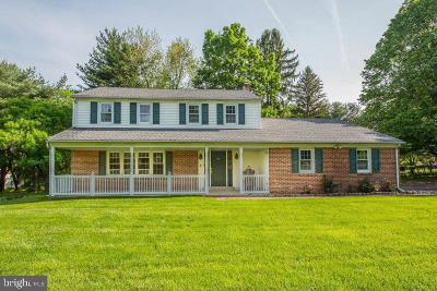 Glen Mills Single Family Home Under Contract: 6 Concord Meeting Road