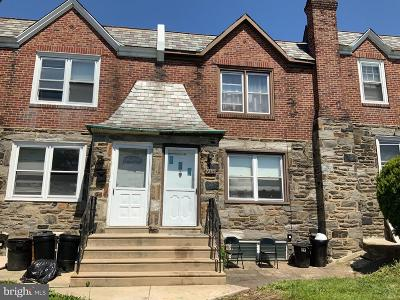 Upper Darby Townhouse For Sale: 7255 Spruce Street