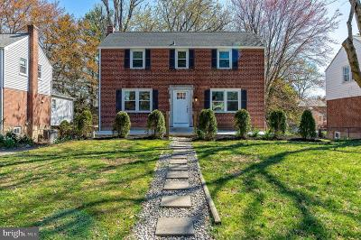 Delaware County Single Family Home For Sale: 401 Pembroke Road