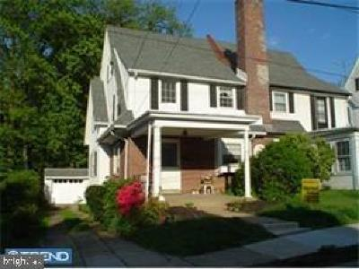 Lansdowne Single Family Home For Sale: 29 Ardmore Avenue