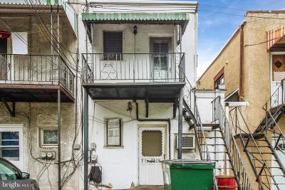 Upper Darby Townhouse For Sale: 7168 Marshall Road