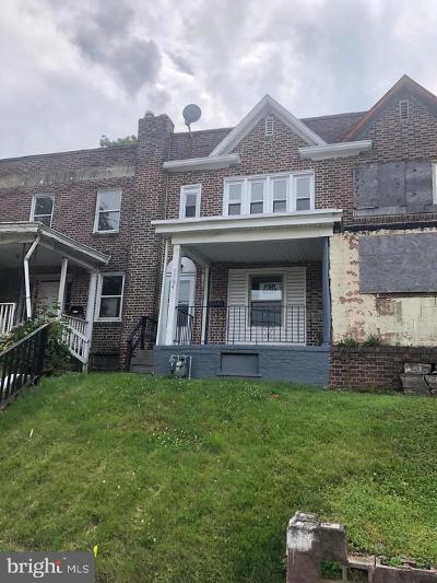 Chester Townhouse For Sale: 1204 Kerlin Street