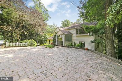 Single Family Home For Sale: 218 S Ridley Creek Road