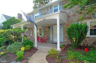 Delaware County Single Family Home For Sale: 2409 Garrett Road