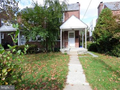 Yeadon Single Family Home For Sale: 1011 Baily Road