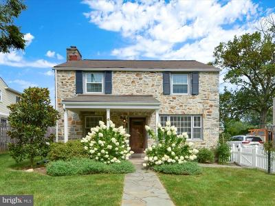 Bryn Mawr Single Family Home For Sale: 4 Lowrys Lane