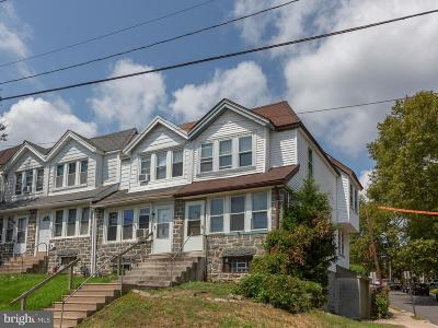 Upper Darby Townhouse For Sale: 126 N State Road