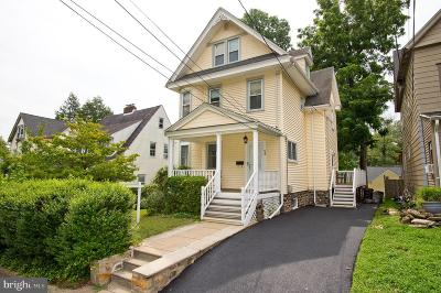 Lansdowne Single Family Home For Sale: 54 W Greenwood Avenue