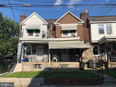 Upper Darby Townhouse For Sale: 593 Larchwood Avenue