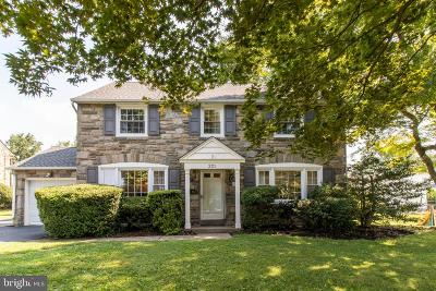 Havertown Single Family Home For Sale: 221 N Drexel Avenue