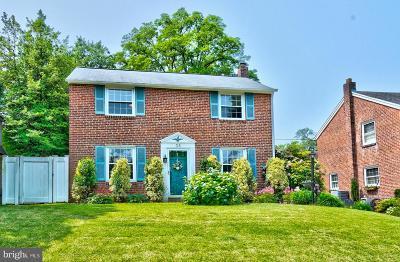 Springfield Single Family Home For Sale: 38 Wayne Avenue
