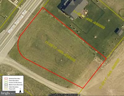 Residential Lots & Land For Sale: Warm Spring Road