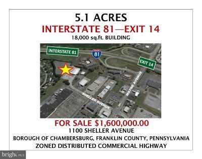 Chambersburg Commercial For Sale: 1100 Sheller Avenue