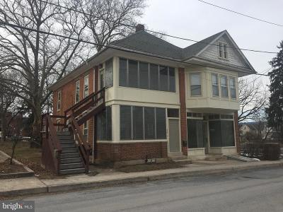 Mercersburg Single Family Home For Sale: 26 N North Fayette Street N