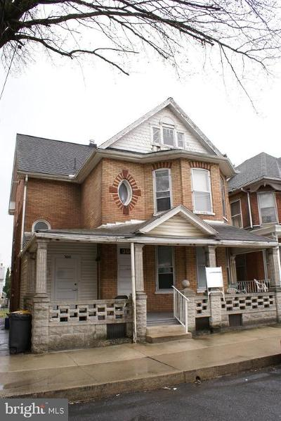 Chambersburg Multi Family Home For Sale: 360 E East Catherine