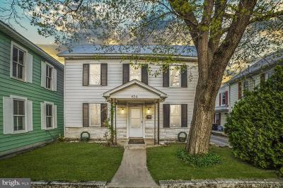Chambersburg Single Family Home For Sale: 624 S. Main Street