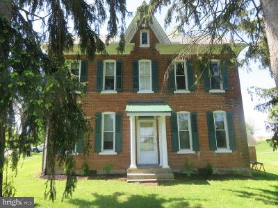 Shippensburg Multi Family Home Under Contract: 11701 Old Mill Road