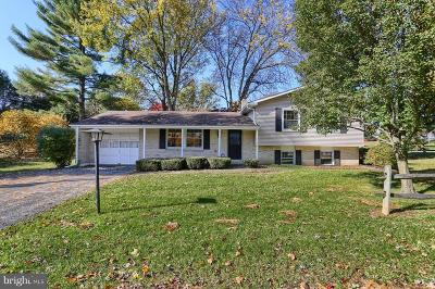 Lancaster Single Family Home For Sale: 1700 Stone Mill Road