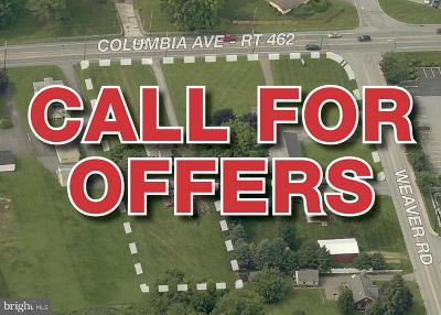Lancaster County Residential Lots & Land For Sale: 3200-3212 Columbia Avenue