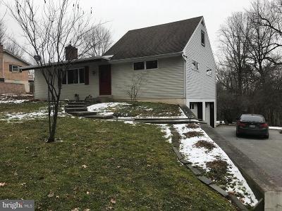 Strasburg Single Family Home For Sale: 509 Bunker Hill Road