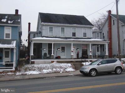 Elizabethtown Multi Family Home For Sale: 244- N Market Street