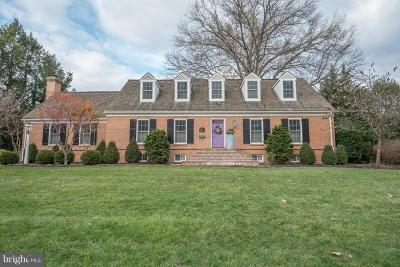 Lancaster County Single Family Home Under Contract: 1409 Newton Road