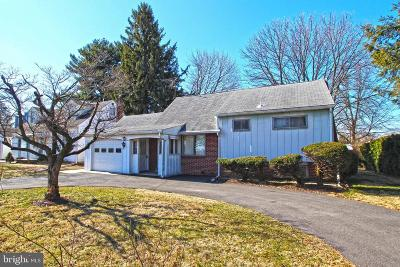 Single Family Home For Sale: 1717 Schoenersville Road