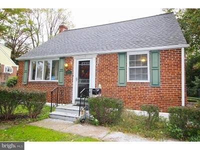 Hatboro Single Family Home For Sale: 3385 W Mill Road