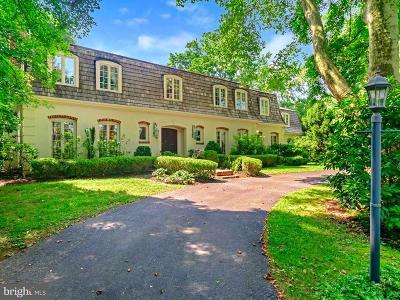 Gladwyne Single Family Home For Sale: 733 Black Rock Road