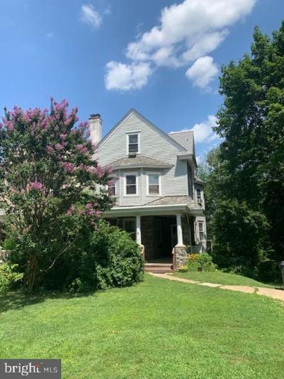Jenkintown Single Family Home For Sale: 1511 Grove Avenue