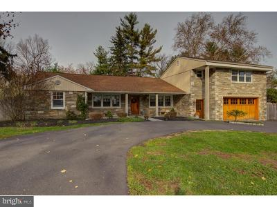 Montgomery County Single Family Home For Sale: 6263-65 W Valley Green Road