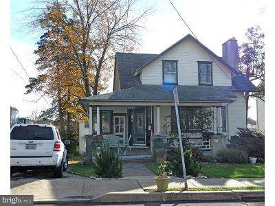 Montgomery County Single Family Home For Sale: 114/116 Cedar Avenue
