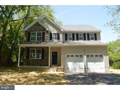 Montgomery County Single Family Home For Sale: Lot 2 Pleasant Avenue