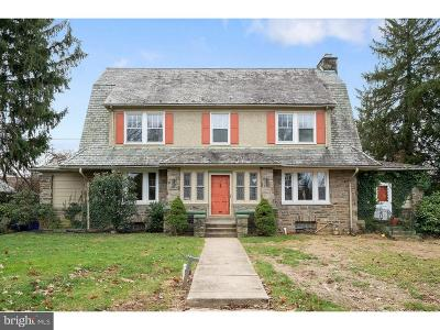 Jenkintown Single Family Home For Sale: 900 West Avenue