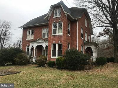 Single Family Home For Sale: 1050 Water Street