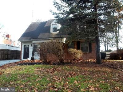 Norristown Single Family Home For Sale: 1424 Harding Boulevard
